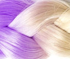 extension cheveux violet
