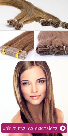 extension de cheveux naturels