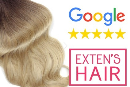 Google attribue 5 étoiles à Exten's Hair